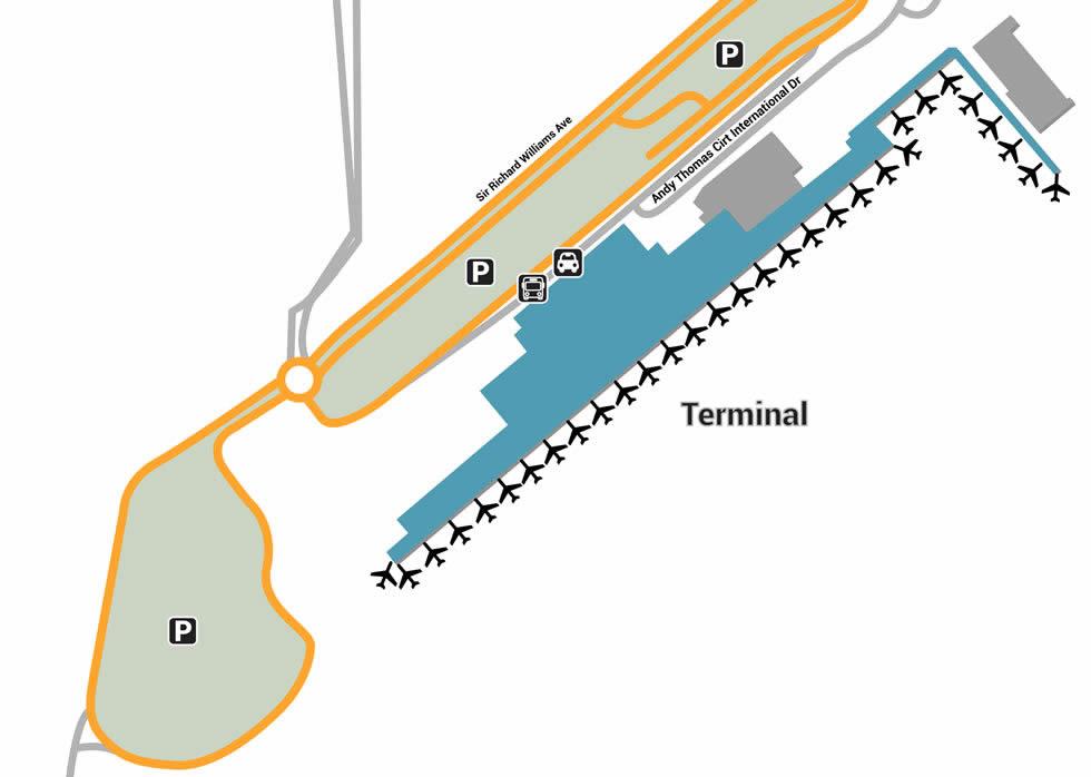 ADL airport terminals