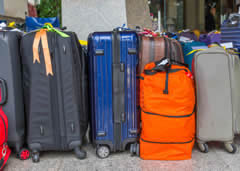 Label your baggage and carry-ons