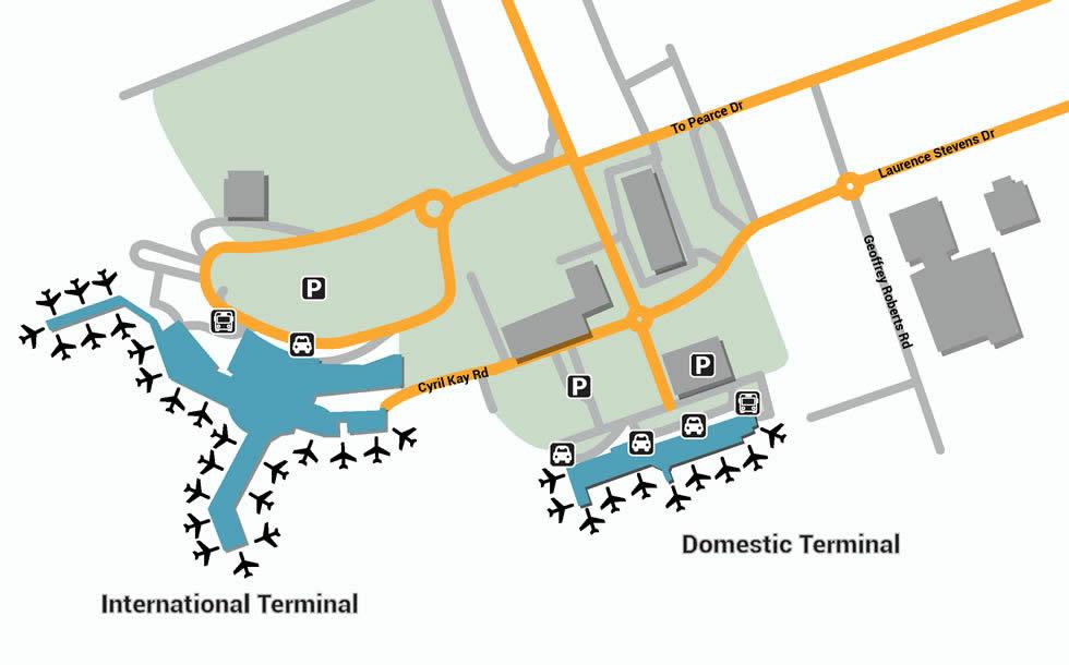 AKL airport terminals