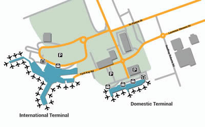 AKL airport terminals