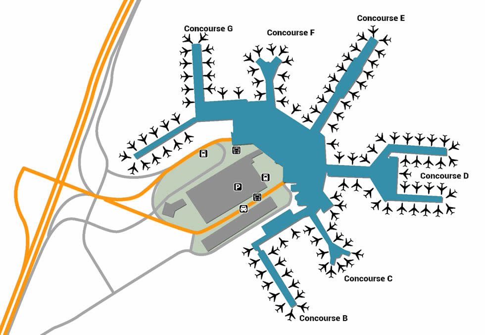 schiphol airport gate map Ams Airport Pick Up And Drop Off schiphol airport gate map