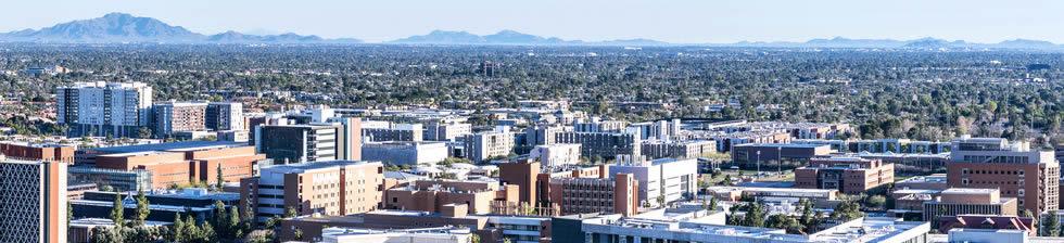 Arizona State University shuttles