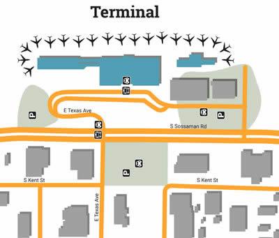 AZA airport terminals
