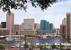 Traveling to Baltimore Inner Harbor
