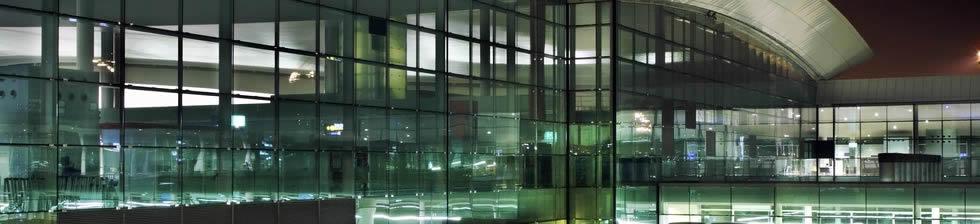 Barcelona airport shuttles in terminals