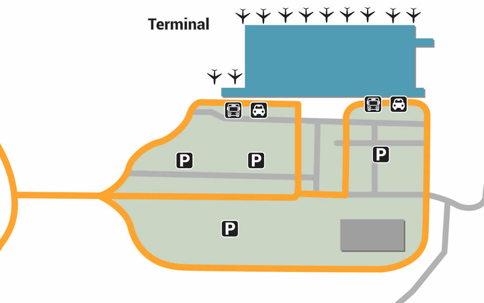 BLR airport terminals