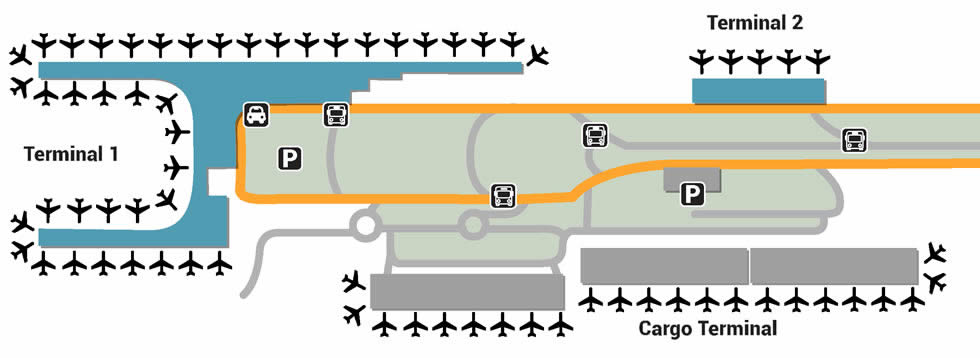El Dorado International airport terminals
