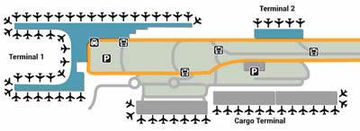 BOG airport terminals