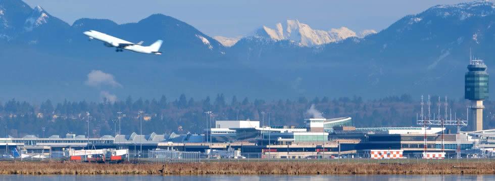 Airports in British Columbia