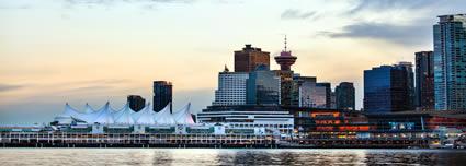 Canada Place Cruise Ship Terminal airport shuttle service