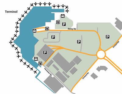 CHC airport terminals