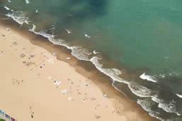Chicago beaches of Lake Michigan
