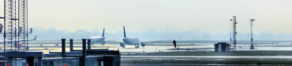 Copenhagen airport shuttles in terminals