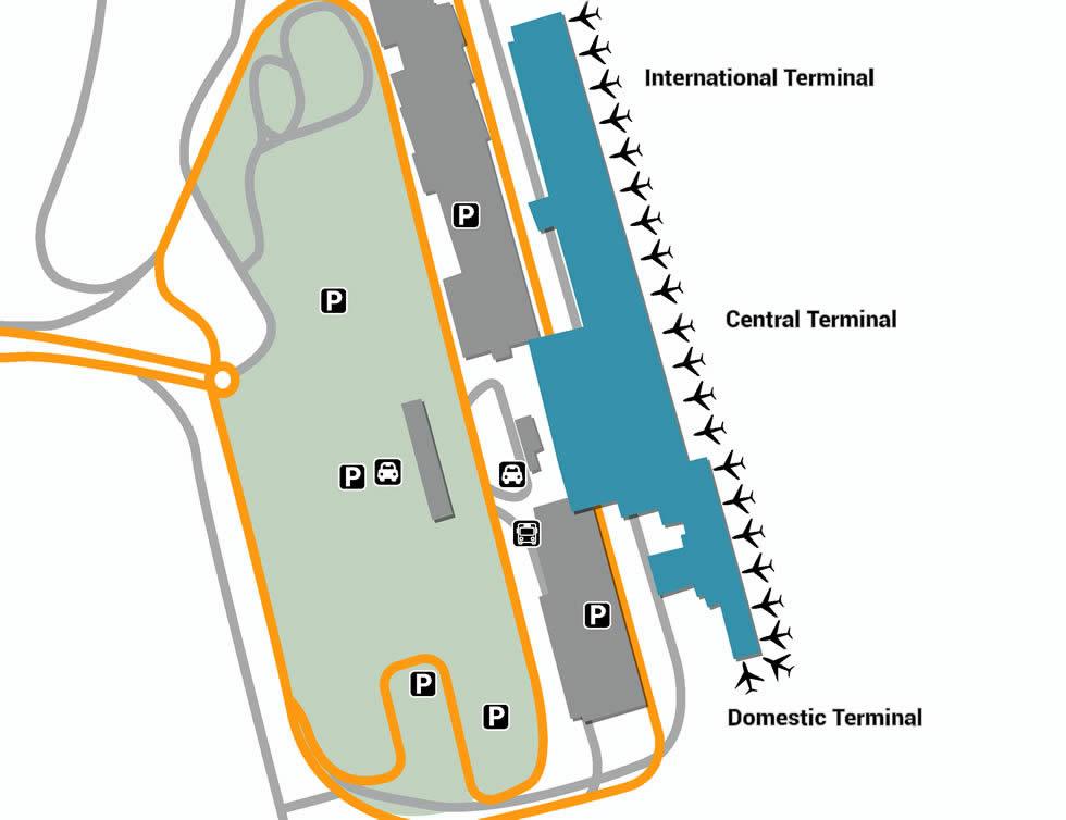 CPT airport terminals