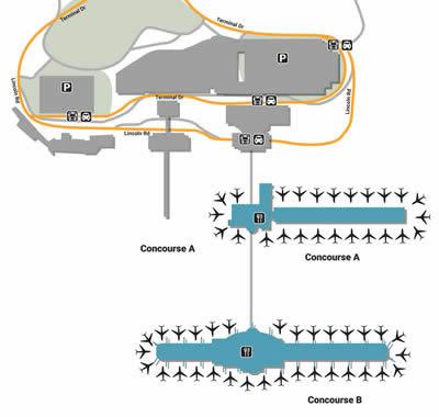 CVG airport terminals