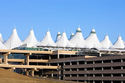 Denver Airport Tent Roof