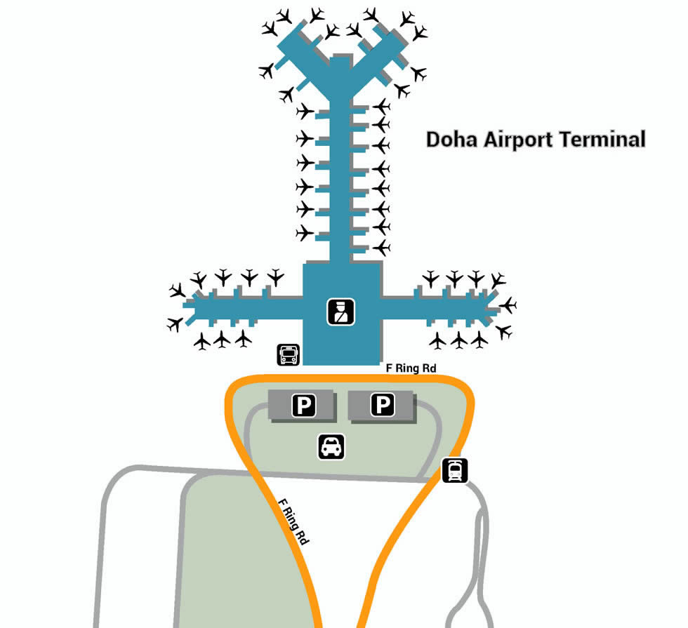 Doha Hamad airport terminals