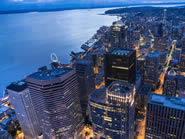Downtown Seattle area