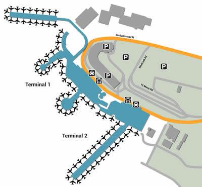DUB airport terminals