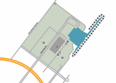 DUR airport terminals