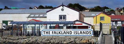 Falkland Islands Port airport shuttle service