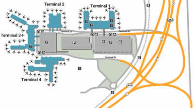 FLL airport terminals