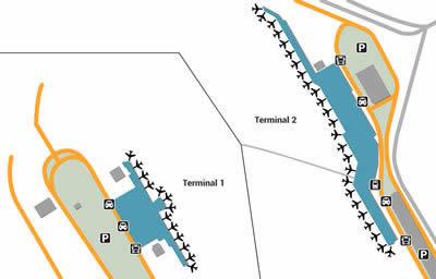 FUK airport terminals