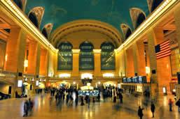 Ride in Grand Central Terminal