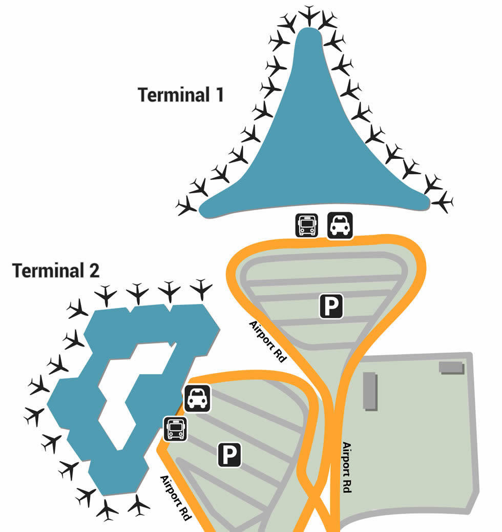 GYD airport terminals