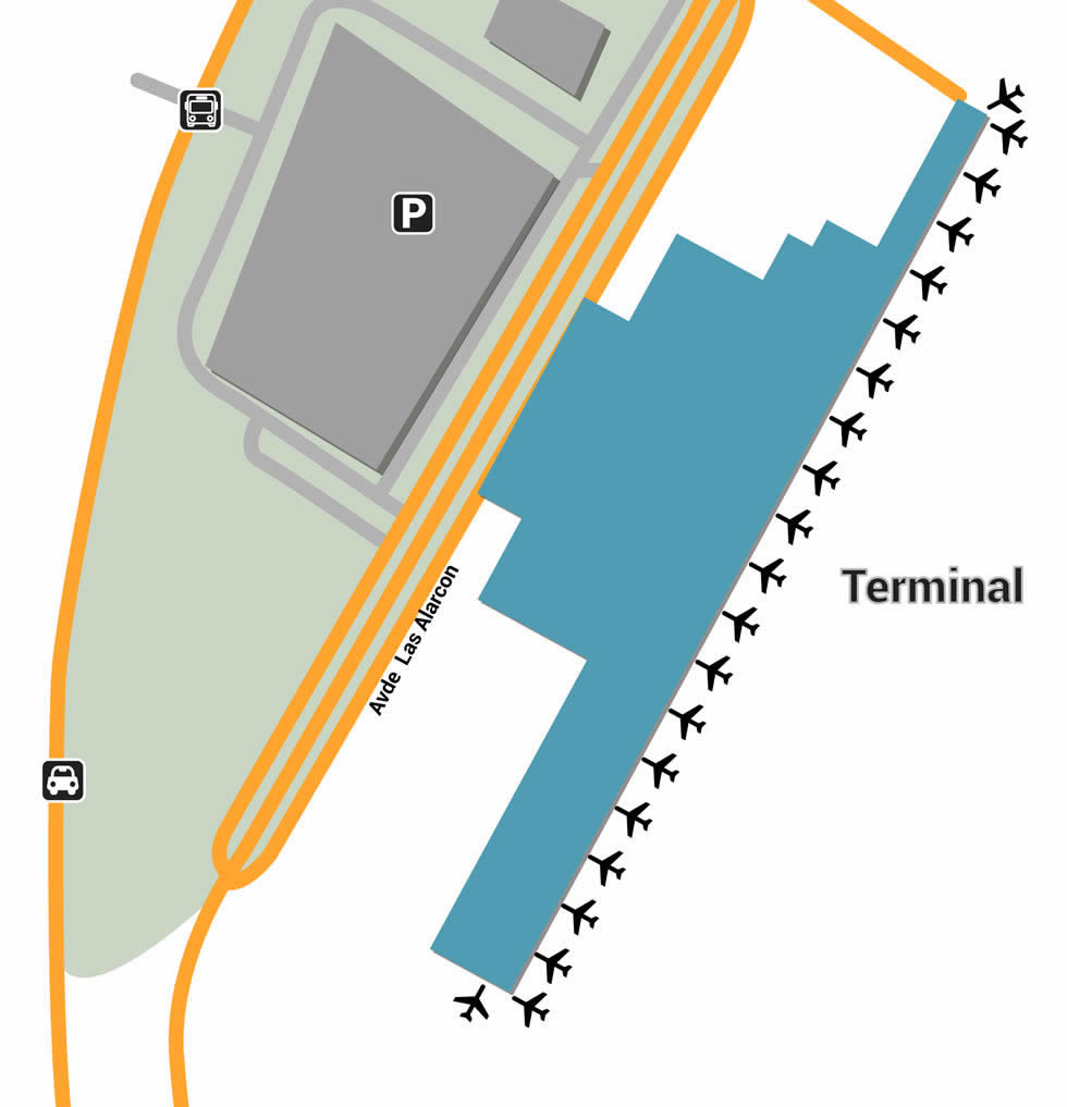 GYE airport terminals