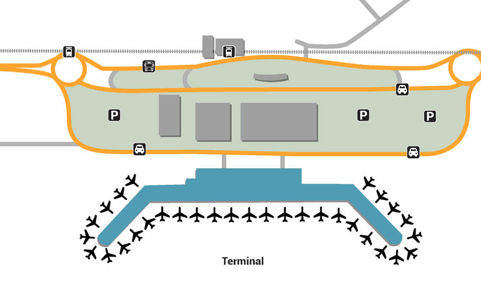 HAK airport terminals