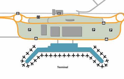 HAK airport terminals