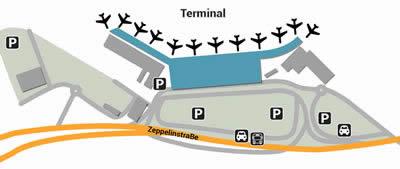 HAM airport terminals