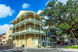 French Quarter historic sites