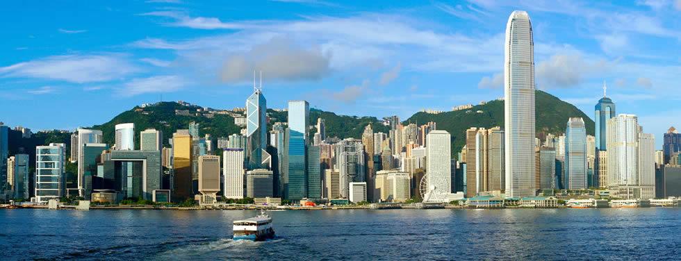 HKG airport shared ride van