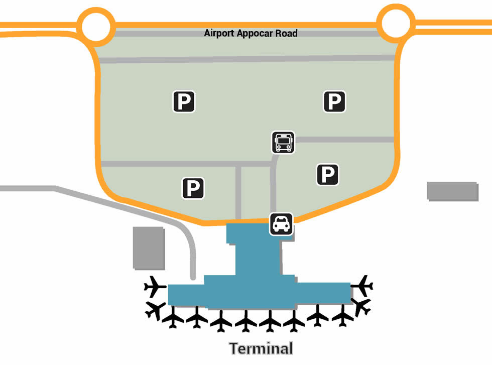 HYD airport terminals