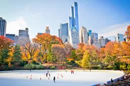 New York ice skating rinks