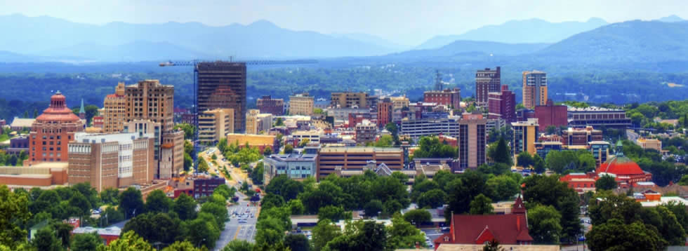 Visit Blue Ridge Mountain's Asheville