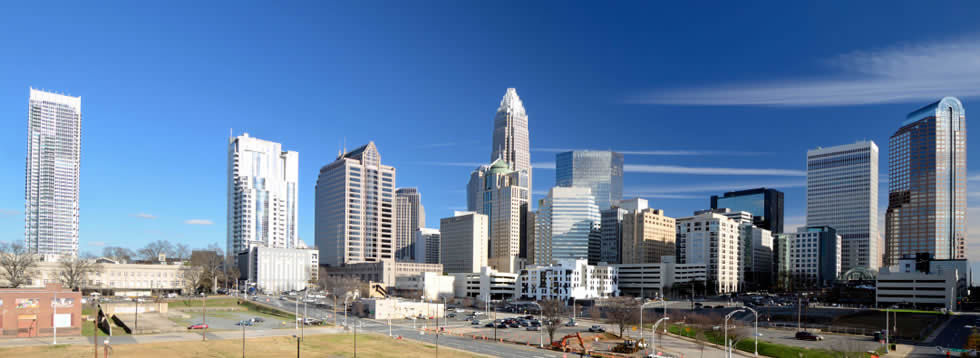 Vacations near downtown Charlotte