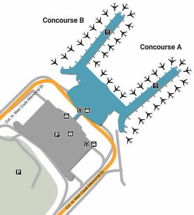 IND airport terminals