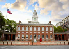 Visiting Independence Hall