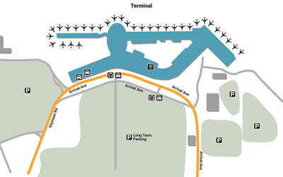 ISP airport terminals