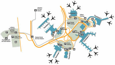 JFK airport terminals