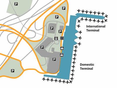 JNB airport terminals