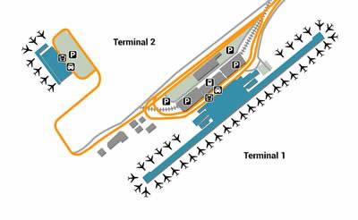 KIX airport terminals