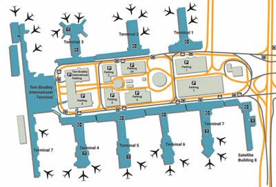 LAX airport terminals