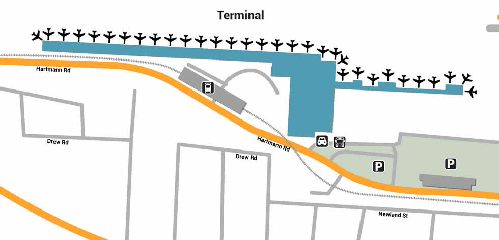 LCY airport terminals