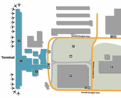 LGB airport terminals