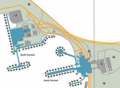 LGW airport terminals