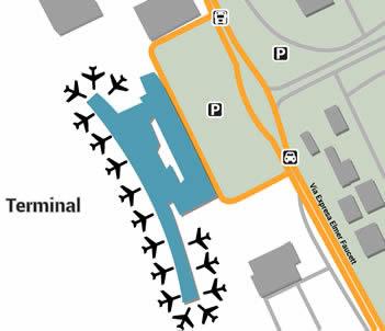LIM airport terminals